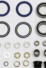 Kona Kona Wah Wah 2 Alloy Pedal rebuild kit inc. bearings, spacers and spindle cap