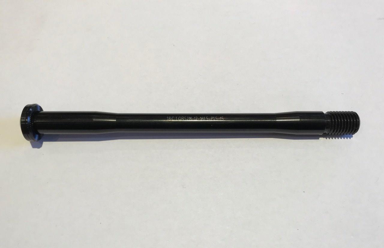 Kona E-Thru Axle tooled 12x142 mm - 161.5mm L X1.5 P