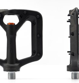 Kona Wah Wah Small Black Composite Pedals