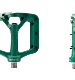 Kona Wah Wah Small Dark Green Composite Pedals