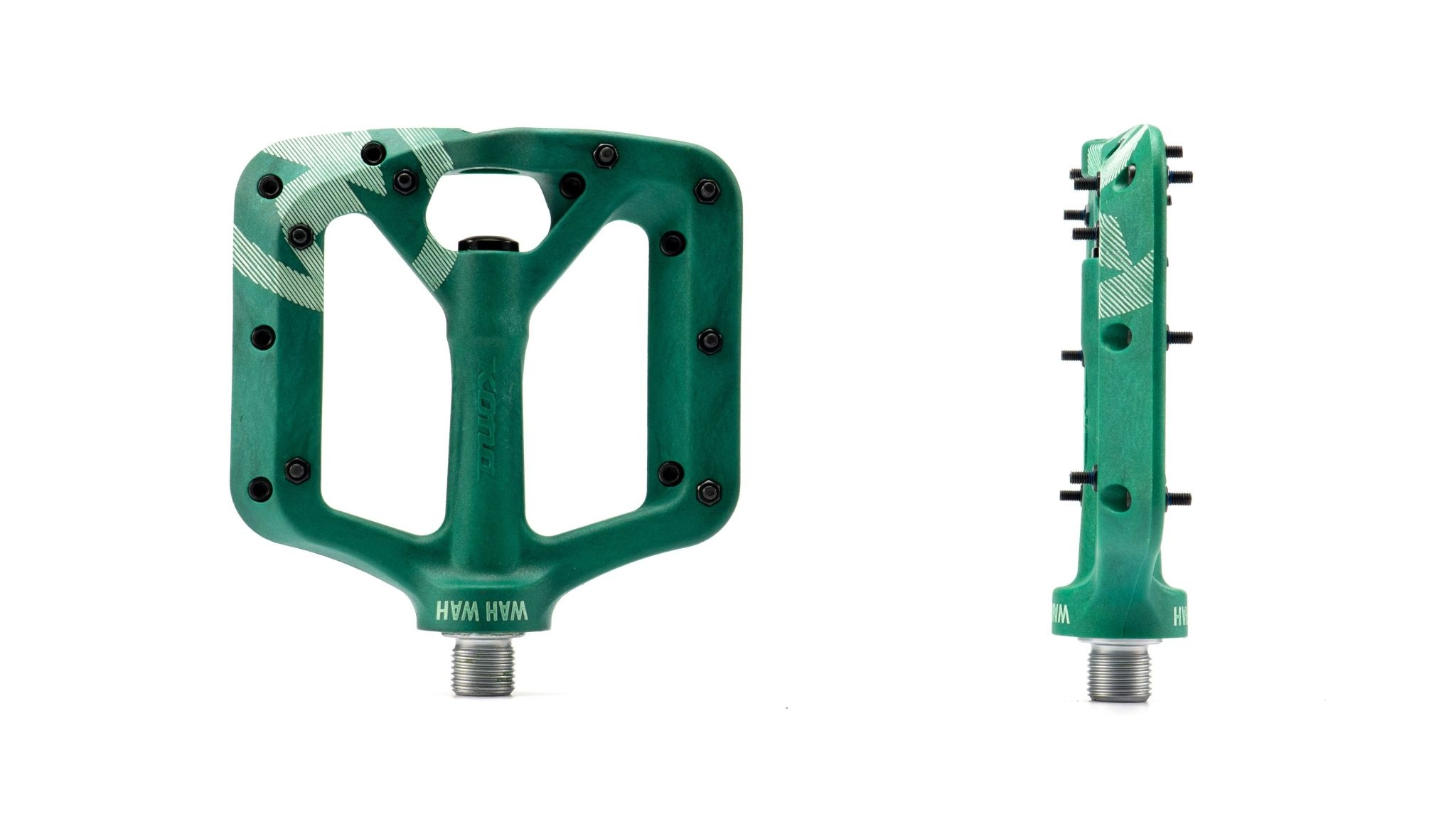 Kona Wah Wah Small Dark Green Composite Pedals