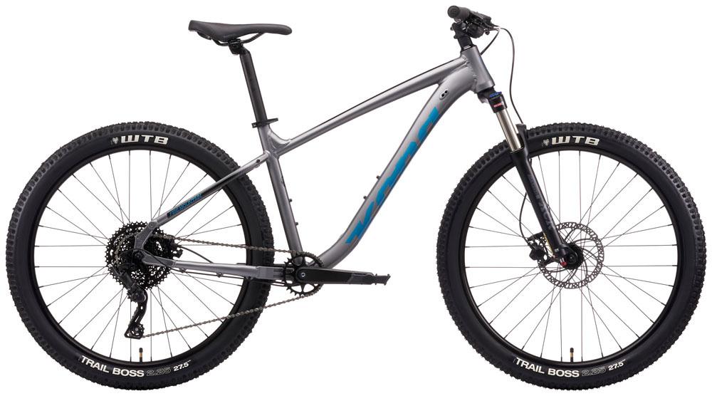 Kona Fire Mountain Grey 2021 X-Small