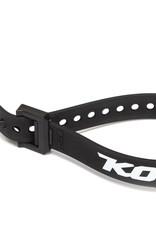 """Kona 15"""" Strap, Black w/nylon buckle and Kona Logo"""