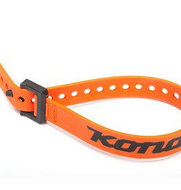 """Kona 15"""" Strap, Orange w/nylon buckle and Kona Logo"""