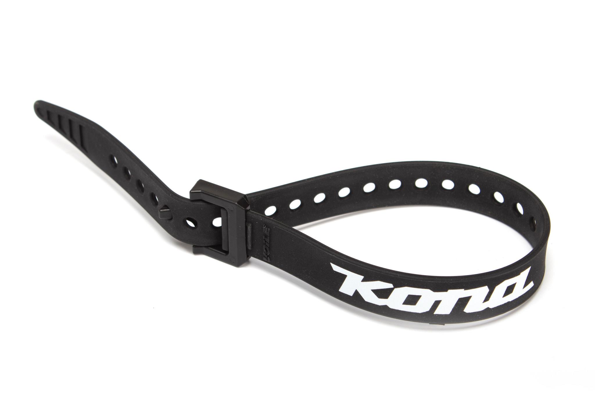 """Kona 20"""" Strap, Black w/nylon buckle and Kona Logo"""
