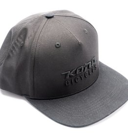 Kona Basic Hat - Black on Black