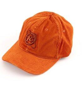 Kona Orbit Hat - Orange Corduroy