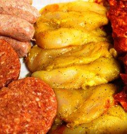 Barbecue pakket 1 - prijs p.p.