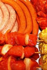 Barbecue pakket 2 - prijs per persoon