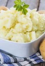 Verse aardappelpuree