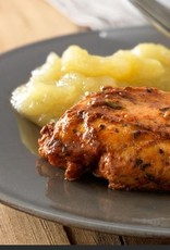 Kippenhaasjes met appelmoes - keuze uit verse kroketten / gratin dauphinois / puree