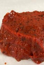 BBQ - Rund steak gemarineerd +/-90g