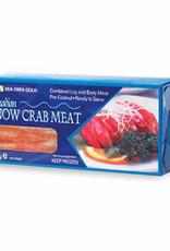 Sneeuwkrab vlees 40/60  100%-400g  diepvries