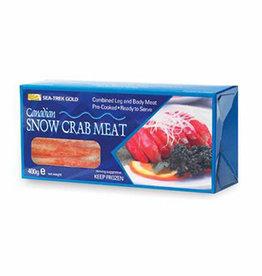 Sneeuwkrab vlees 40/60 100% - 400g  diepvries