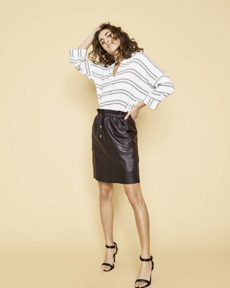 a6c693e3744d8e Ellie leather skirt - Maybe Someday