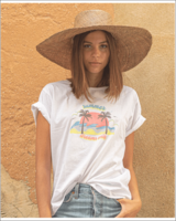 POPPY FIELD THE LABEL T-shirt