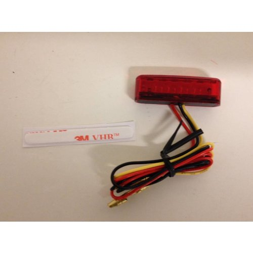 LED tail light SHORTY, RED