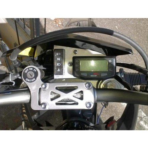 Acewell Digitaal Dash KM/H ACE-254 Zwart