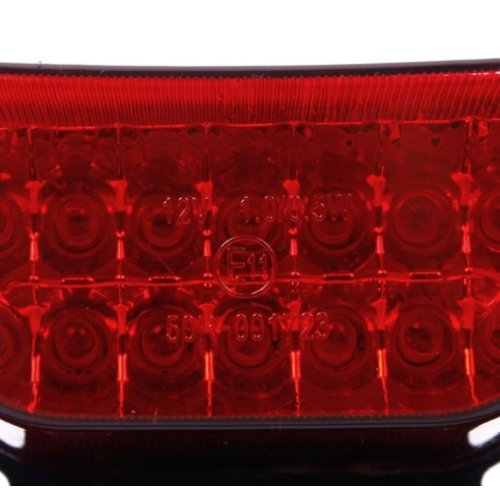 LED TAIL LIGHT WITH INTEGRATED INDICATORS & PLATE HOLDER
