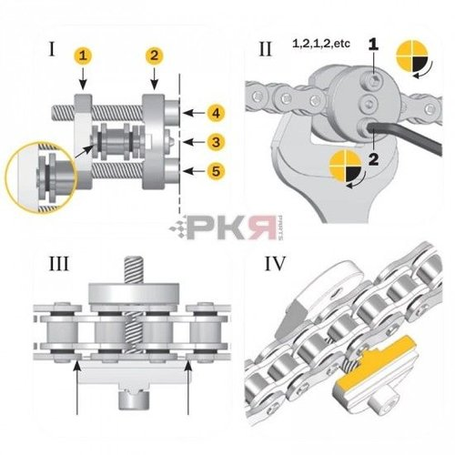 AFAM Easy Riv 5 Chain Tool
