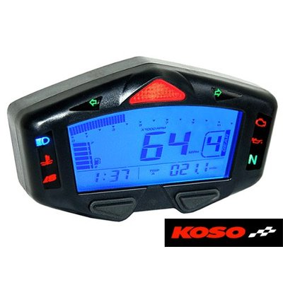KOSO Digitales Multifunktions-Cockpit DB03-R