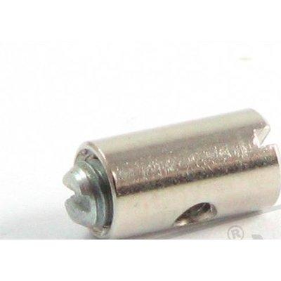 Gaskabel Nippel / Ton 5x10MM