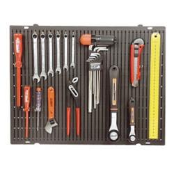Mannesmann Werkzeuge Wand mit Haken