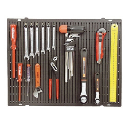 Mannesmann Mannesmann Tools wall with hooks