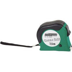Mannesmann Tape measure 7.5 meters to stop