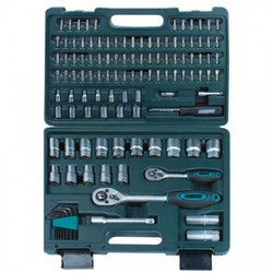 MANNESMANN SOCKET SET 115 PIECES 1/4+1/2 ""