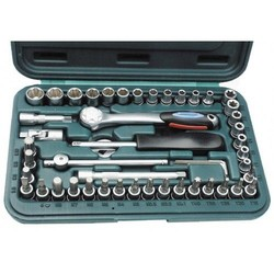 MANNESMANN SOCKET SET 49 PIECES 1/4 ""