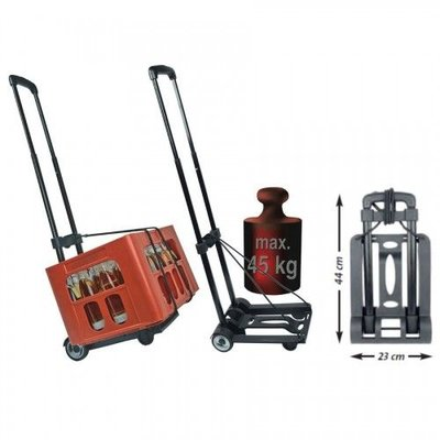 Mannesmann Foldable Trolley 45 KG