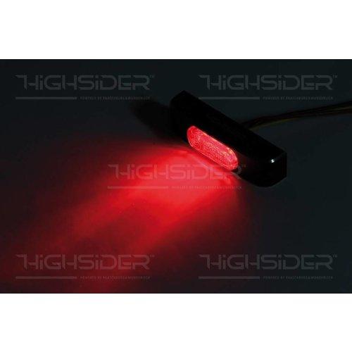 Highsider LED taillight CONERO T2, smoke lens