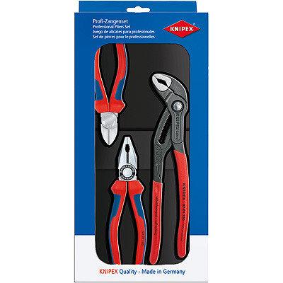 Knipex Werkzeugsatz mit 3 Teilen - Best Seller Satz