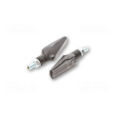 Shin Yo LED Knipperlichten Fineline, Smoke Lens