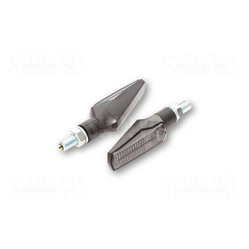 Shin Yo LED Achter/Knipperlichten Fineline Smoke