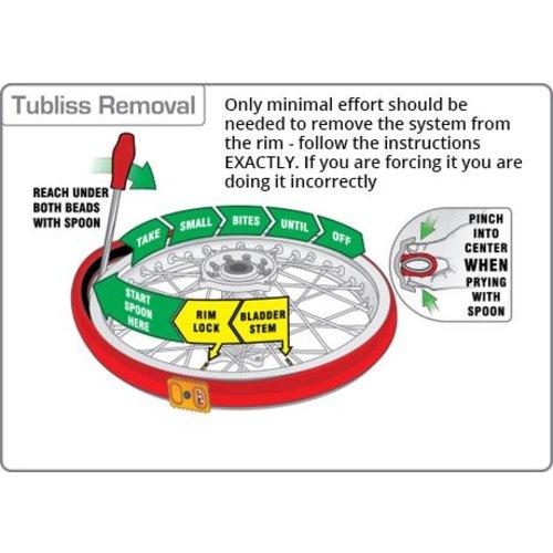 """Tubliss Gen2 Tibless Tire Core 21"""" x 1.6"""""""