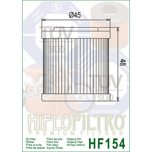 Hiflo Oil filter HF154