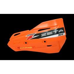 Armor-Guard XC Handbescherming met knipperlicht - Oranje