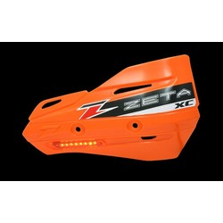Armor-Guard XC Handschutz mit Blinker - Orange