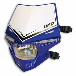 Stealth Headlight Unit Hood - Blue