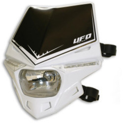 Stealth Headlight Unit Hood White