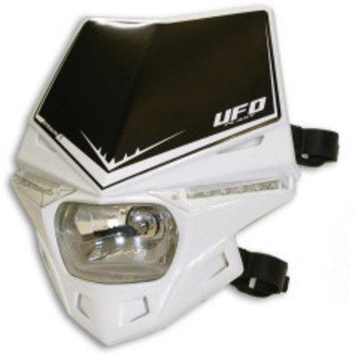 UFO Stealth Koplamp Unit Kap Wit