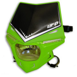 Stealth Frontscheinwerfer mit LED und E-zertifiziert Grün