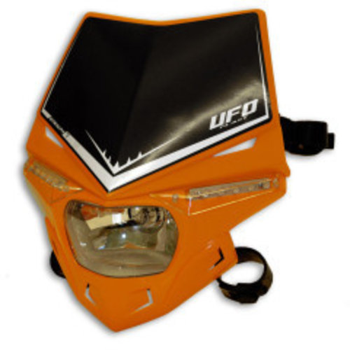 UFO Stealth Koplamp Unit Kap Blauw Oranje