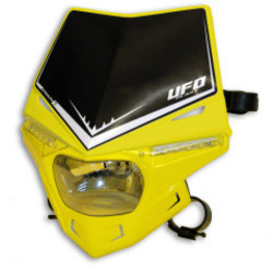 Stealth Headlight Unit Hood Yellow