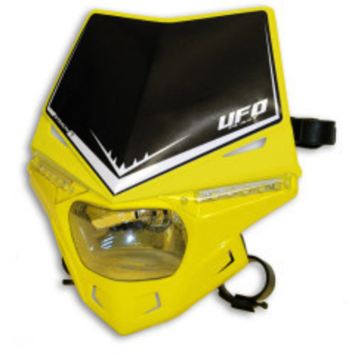 UFO Stealth Headlight Unit Hood Yellow