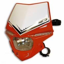 Stealth Frontscheinwerfer mit LED und E-zertifiziert Rot
