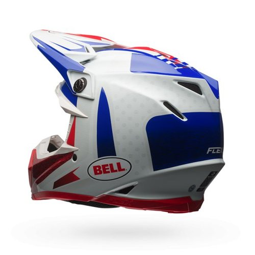 Bell Moto-9  Flex Carbon Vice Blue/Red