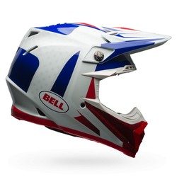 Moto-9  Flex Carbon Vice Blue/Red